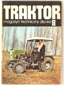 Okładka magazynu Traktor w której znajduje się artykuł, który czytacie.