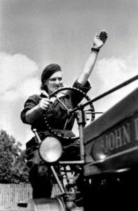 Magdalena Figur (ur. 1927, zm. 2007) bohaterka tekstu i legendarnego PRL-owskiego plakatu. Źródło: http://bialystok.gazeta.pl/